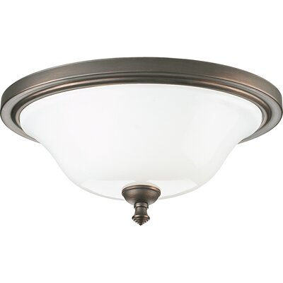 Victorian Pearl Nickel Flush Mount Finish: Venetian Bronze