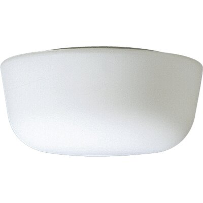 Opal Glass Dome Flush Mount Size: 5 1/2H with 10 1/8 Diameter