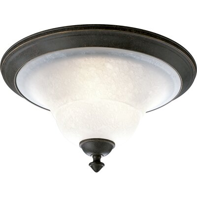 Melbourne Flush Mount Size: 9H with 17 Diameter