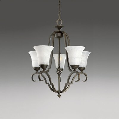 Kemberly 5-Light Shaded Chandelier