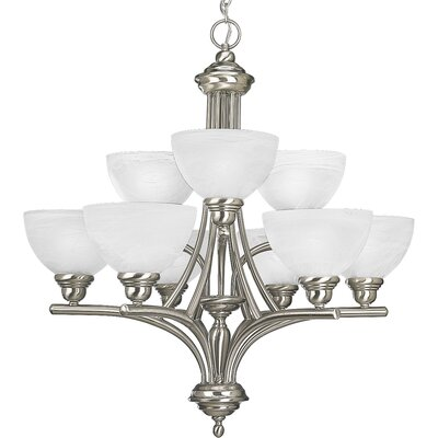 Glendale 9-Light Shaded Chandelier