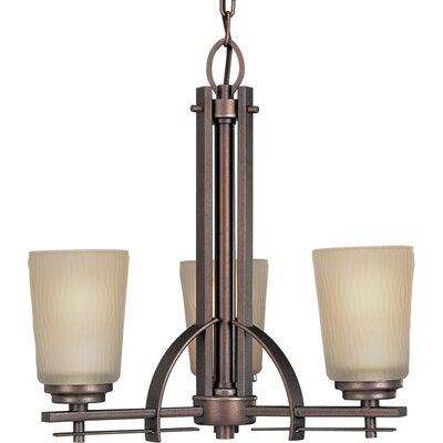 Arla 3-Light Shaded Chandelier
