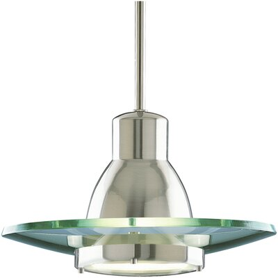 1-Light Contemporary Mini Pendant