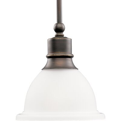 Gradall 1-Light Mini Pendant Finish: Antique Bronze
