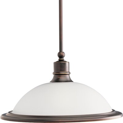 Madison 1-Light Pendant Finish: Antique Bronze
