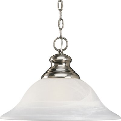 Bedford 1-Light Pendant Finish: Plated