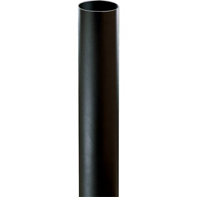 Black Bollard for Path Light (4-3/4 x 28-3/8)