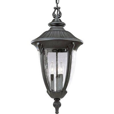 Triplehorn 3-Light Formal anging Lantern
