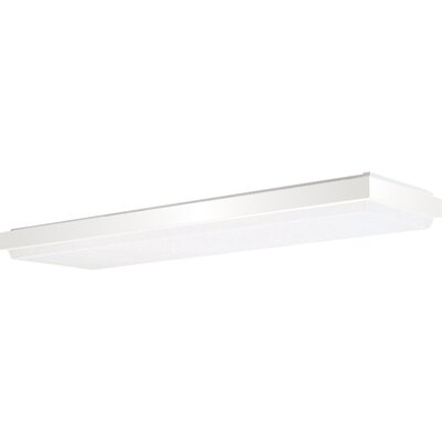 Haring Energy Star White Linear Fluorescent Ceiling Cloud Size: 4 1/2H x 49W x 16D