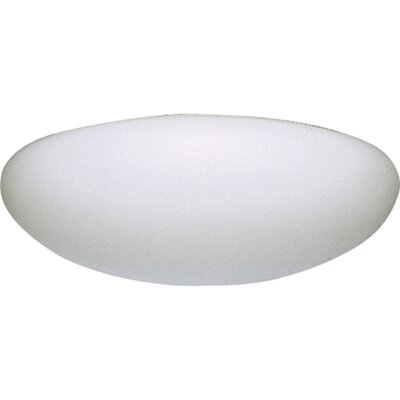 16 Round Ceiling Cloud Size: 4 H x 16 W