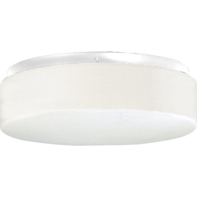 Pace 2-Light Flush Mount Finish: White