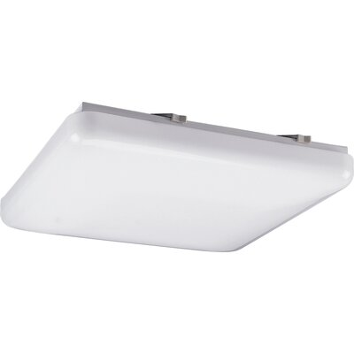Kristian 15 Square White Ceiling Cloud Size: 12-1/2 Diameter,  Height: 3-1/8