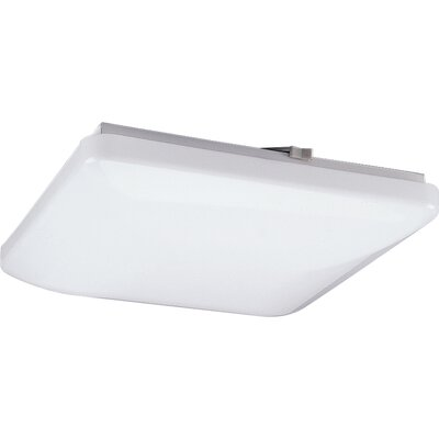 Kristian 15 Square White Ceiling Cloud Size: 15 Diameter,  Height: 3