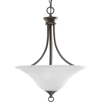 Trinity 3-Light Inverted Pendant Finish: Antique Bronze