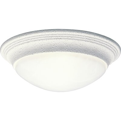 "Abbottstown 1-Light Flush Mount Size: 3.75"" H x 11.5"" W x 11.5"" D WNSP1173 43376153"