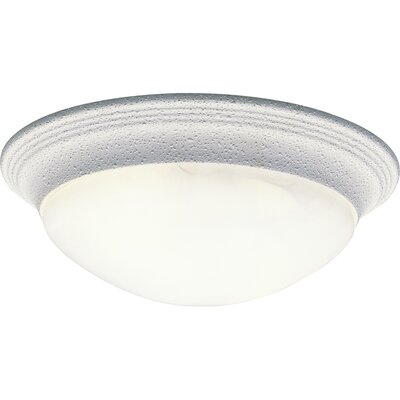 "Abbottstown 1-Light Flush Mount Size: 4.75"" H x 14"" W x 14"" D WNSP1173 43376154"