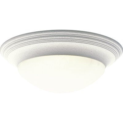"Abbottstown 1-Light Flush Mount Size: 5.5"" H x 16.625"" W x 16.625"" D WNSP1173 43376155"