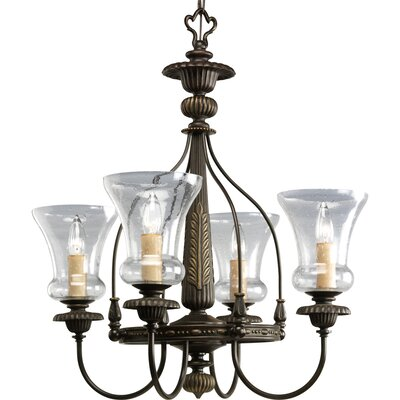 Whidden 4-Light Candle-Style Chandelier