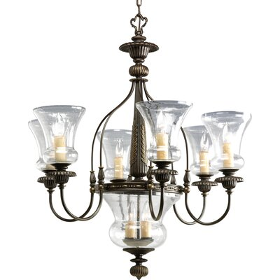 Whidden 8-Light Candle-Style Chandelier