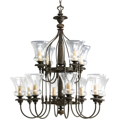 Whidden 12-Light Candle-Style Chandelier