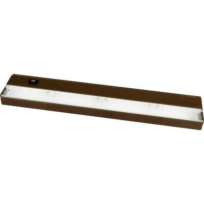 Hide-a-Lite 18 Xenon Under Cabinet Bar Light Finish: Bronze