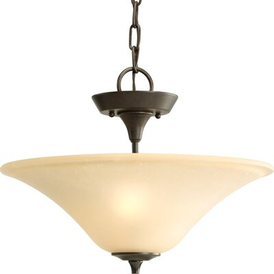 Risha 2-Light Convertible Inverted Pendant
