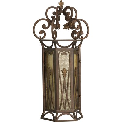 Progress Lighting Drayton Hall Wall Sconce in Aged Mahogany | Wayfair