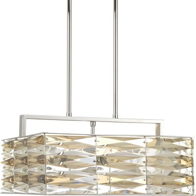 Benson 5-Light Geometric Pendant