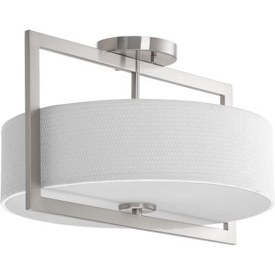 Urmee 3-Light Flush Mount Size: 10.5 H x 15 W
