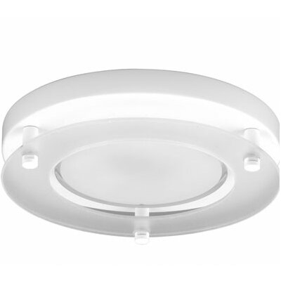 Ashim Decorative Surface Flush Mount Finish: White