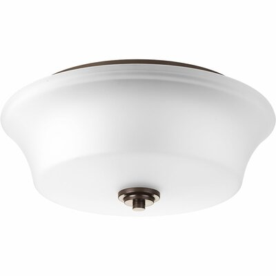 Tashina 2-Light Flush Mount Finish: Antique Bronze