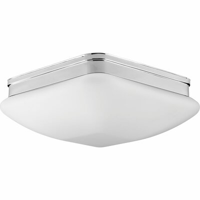 Burbury 3-Light Flush Mount Finish: Polished Chrome
