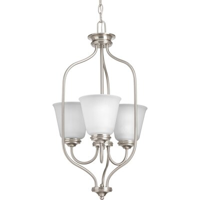 Pedroy 3-Light Foyer Pendant Finish: Brushed Nickel
