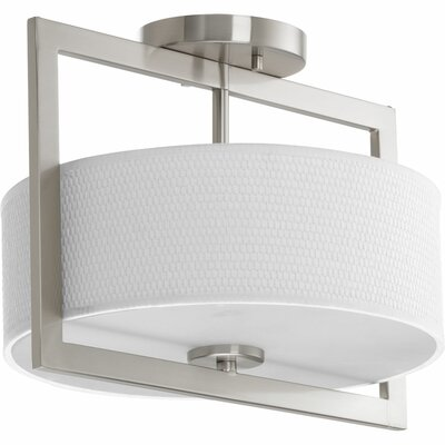 Urmee 3-Light Flush Mount Size: 10.25 H x 12.75 W