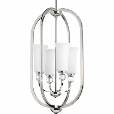 Macced 4-Light Foyer Pendant