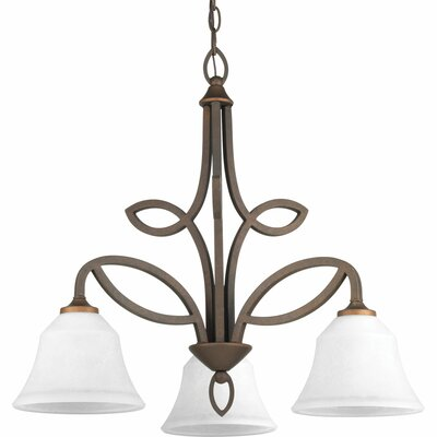 Kanwit 3-Light Shaded Chandelier