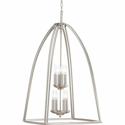 Adama 8-Light Foyer Pendant Finish: Brushed Nickel