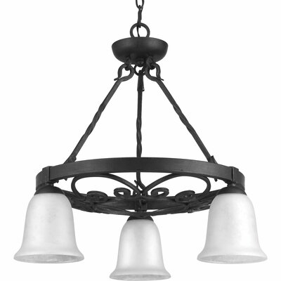 Beachwood 3-Light Shaded Chandelier