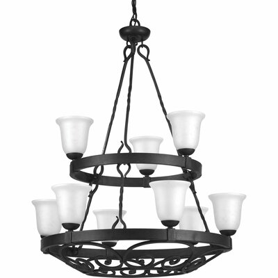 Beachwood 9-Light Shaded Chandelier