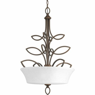 Kanwit 3-Light Inverted Pendant