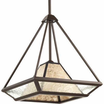 Debarr 1-Light Foyer Pendant Size: 14 H x 12 W