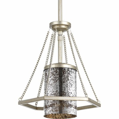Garvin 1-Light Mini Pendant Finish: Silver Ridge