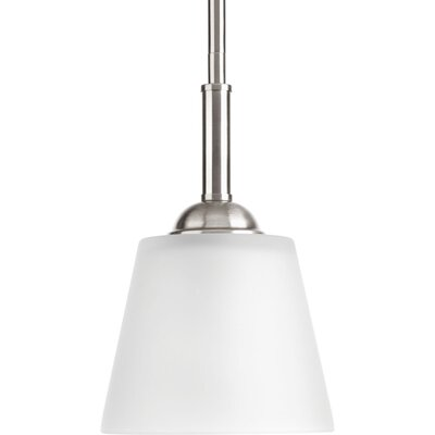 Arden 1-Light Mini-Pendant Finish: Brushed Nickel