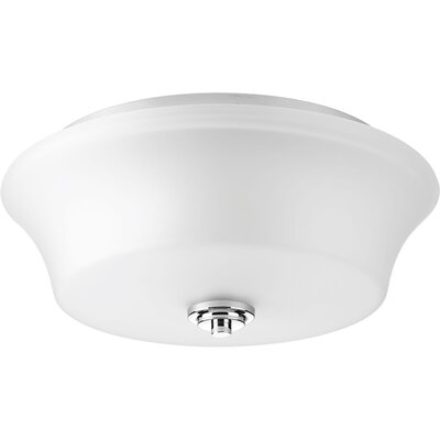 Cascadia 2-Light Flush Mount Finish: Polished Chrome