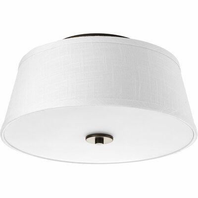 Bay City 2-Light Flush Mount Finish: Antique Bronze