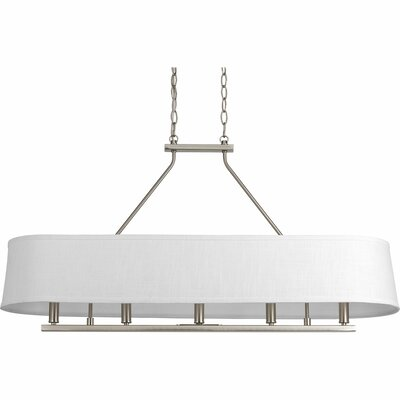 Cherish 5-Light Kitchen Island Pendant Finish: Brushed Nickel