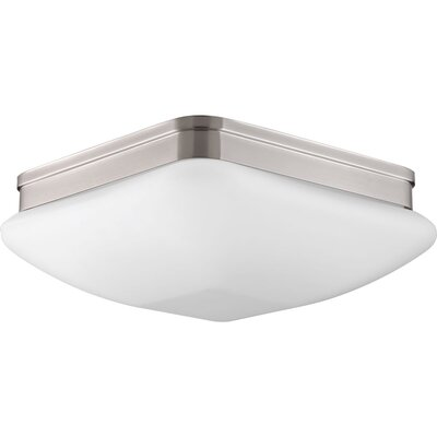 Burbury 3-Light Flush Mount Finish: Brushed Nickel
