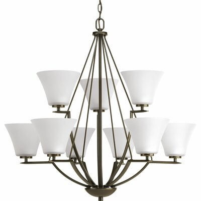 Karla 9-Light Shaded Chandelier