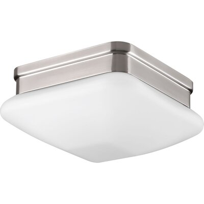 Nason 1-Light Flush Mount Finish: Brushed Nickel
