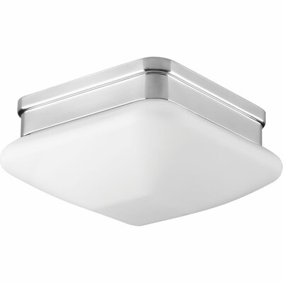 Nason 1-Light Flush Mount Finish: Polished Chrome